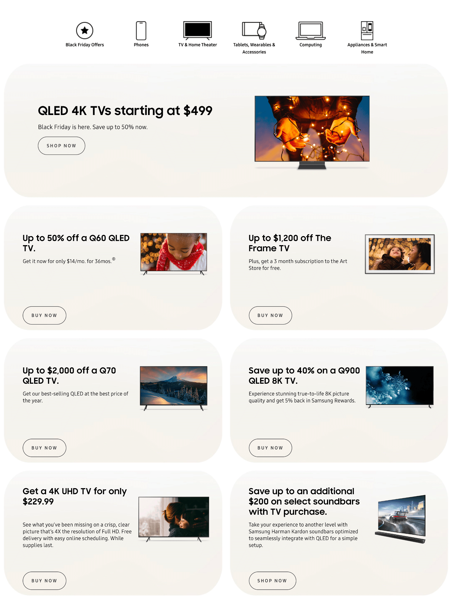 Samsung Black Friday 2019 Page 2