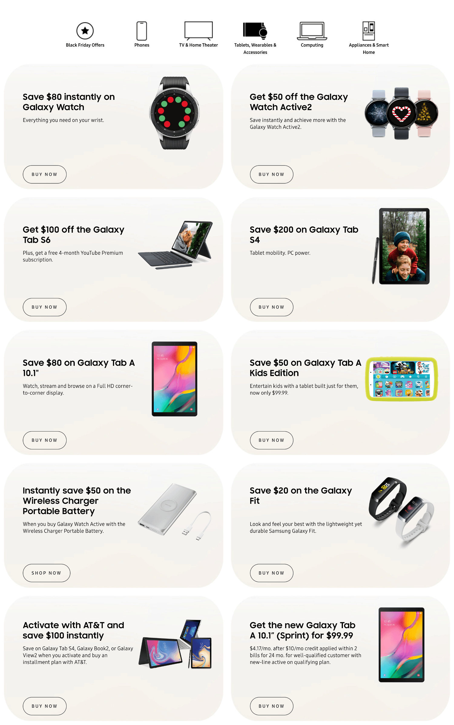Samsung Black Friday 2019 Page 3