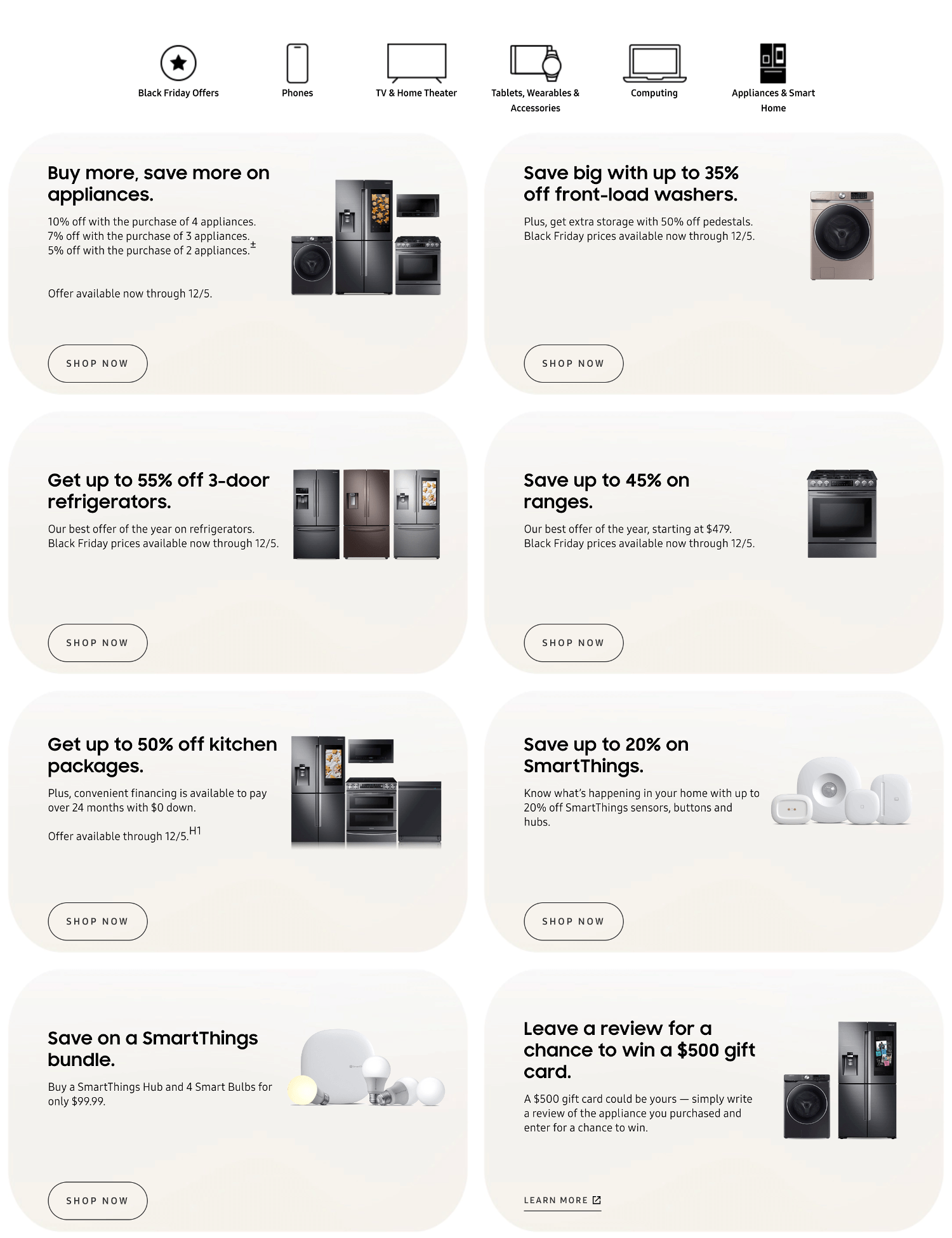 Samsung Black Friday 2019 Page 5