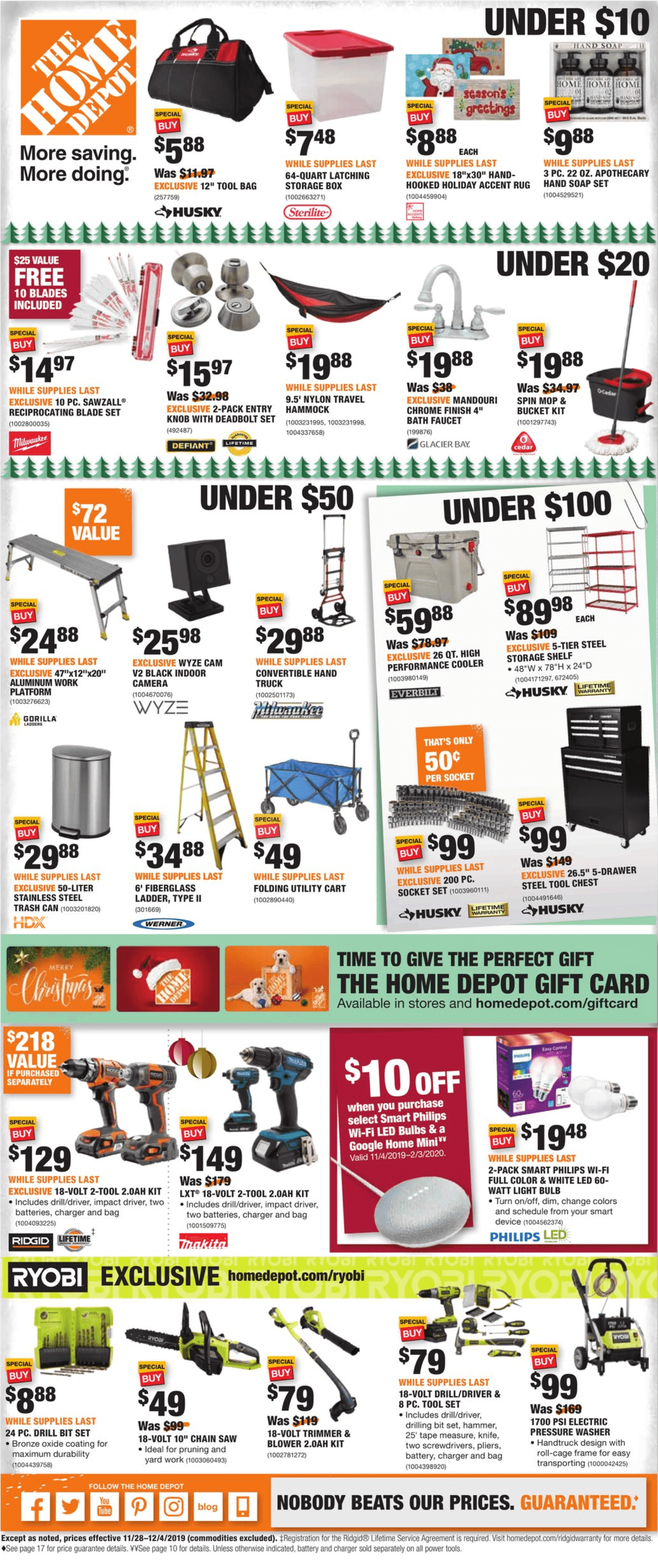 Home Depot Black Friday 2019 Page 18