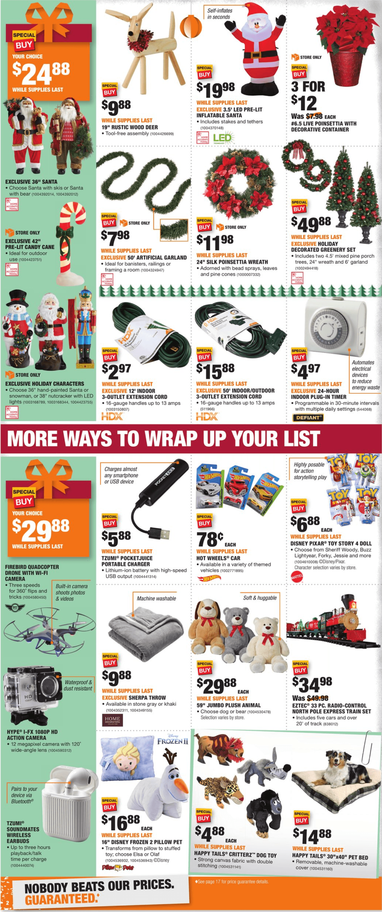 Home Depot Black Friday 2019 Page 2