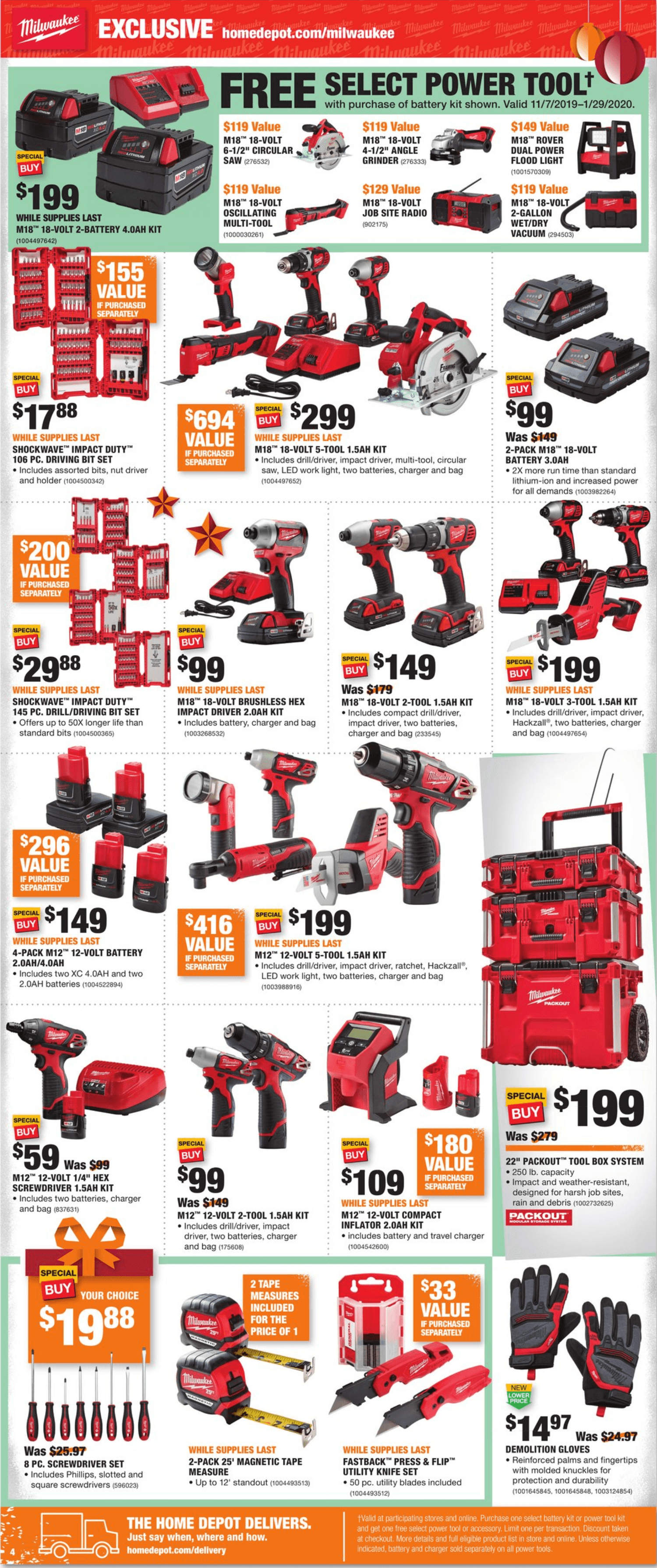 Home Depot Black Friday 2019 Page 4