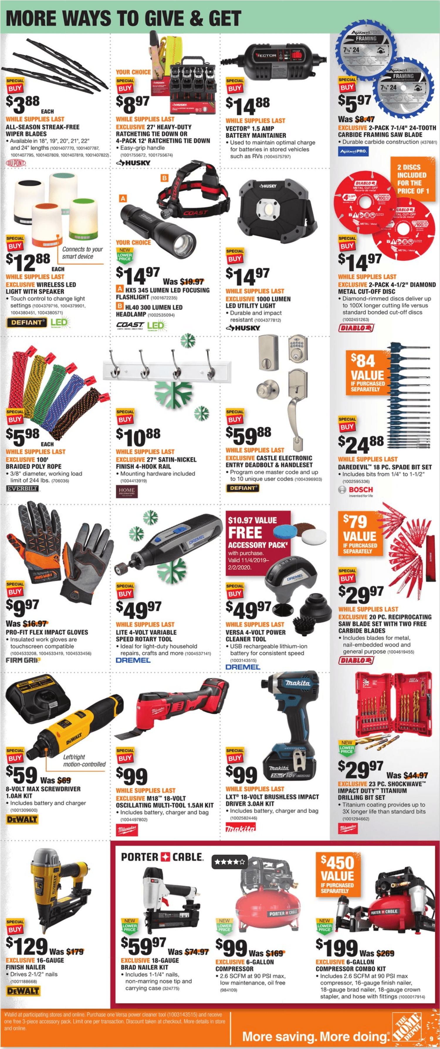 Home Depot Black Friday 2019 Page 9