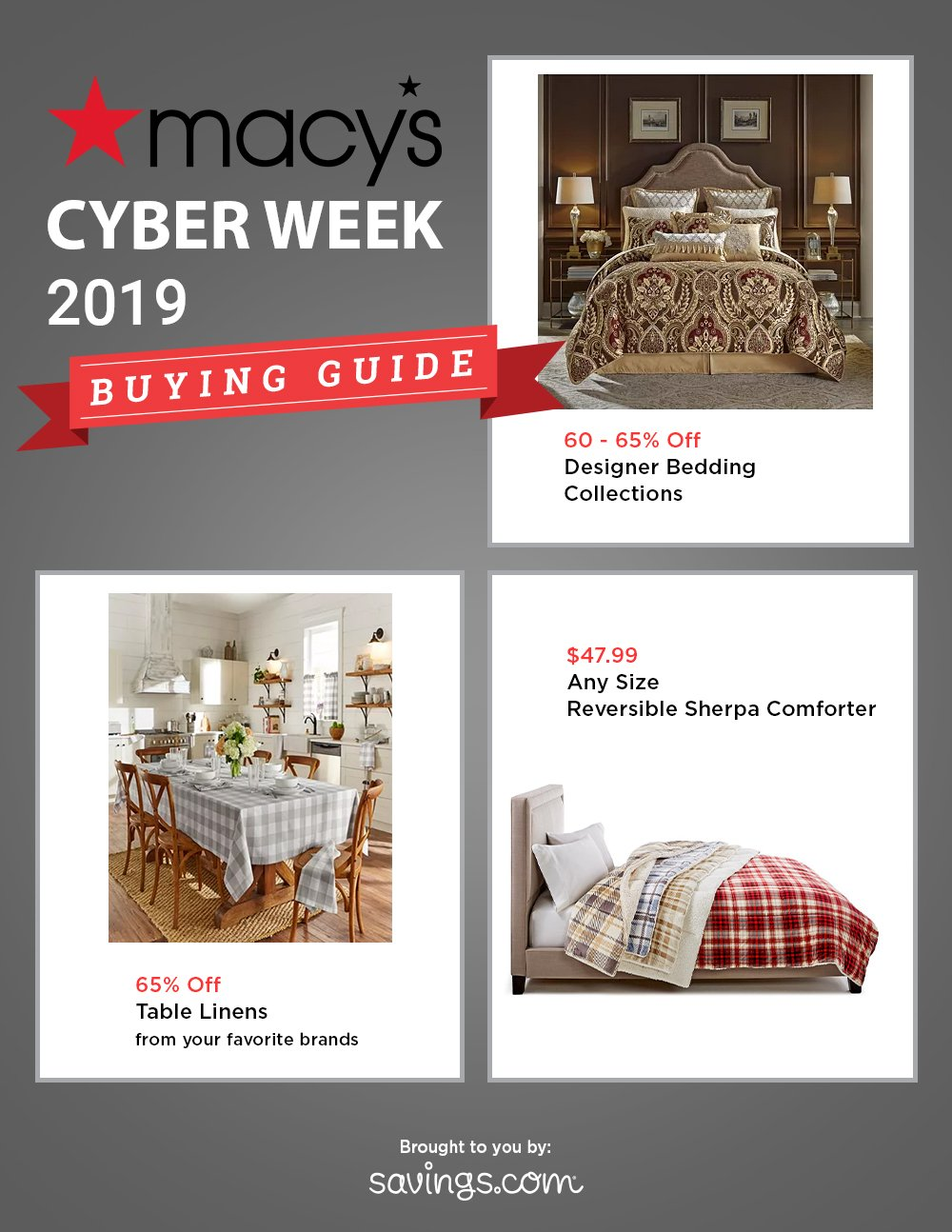 Macy's Cyber Week Buying Guide 2019 Page 3