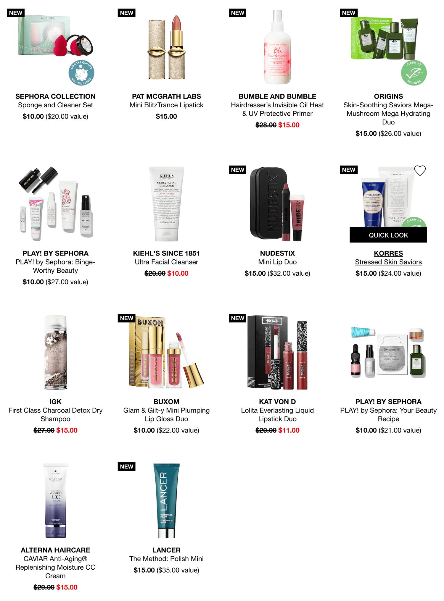 Sephora Black Friday 2019 Page 2