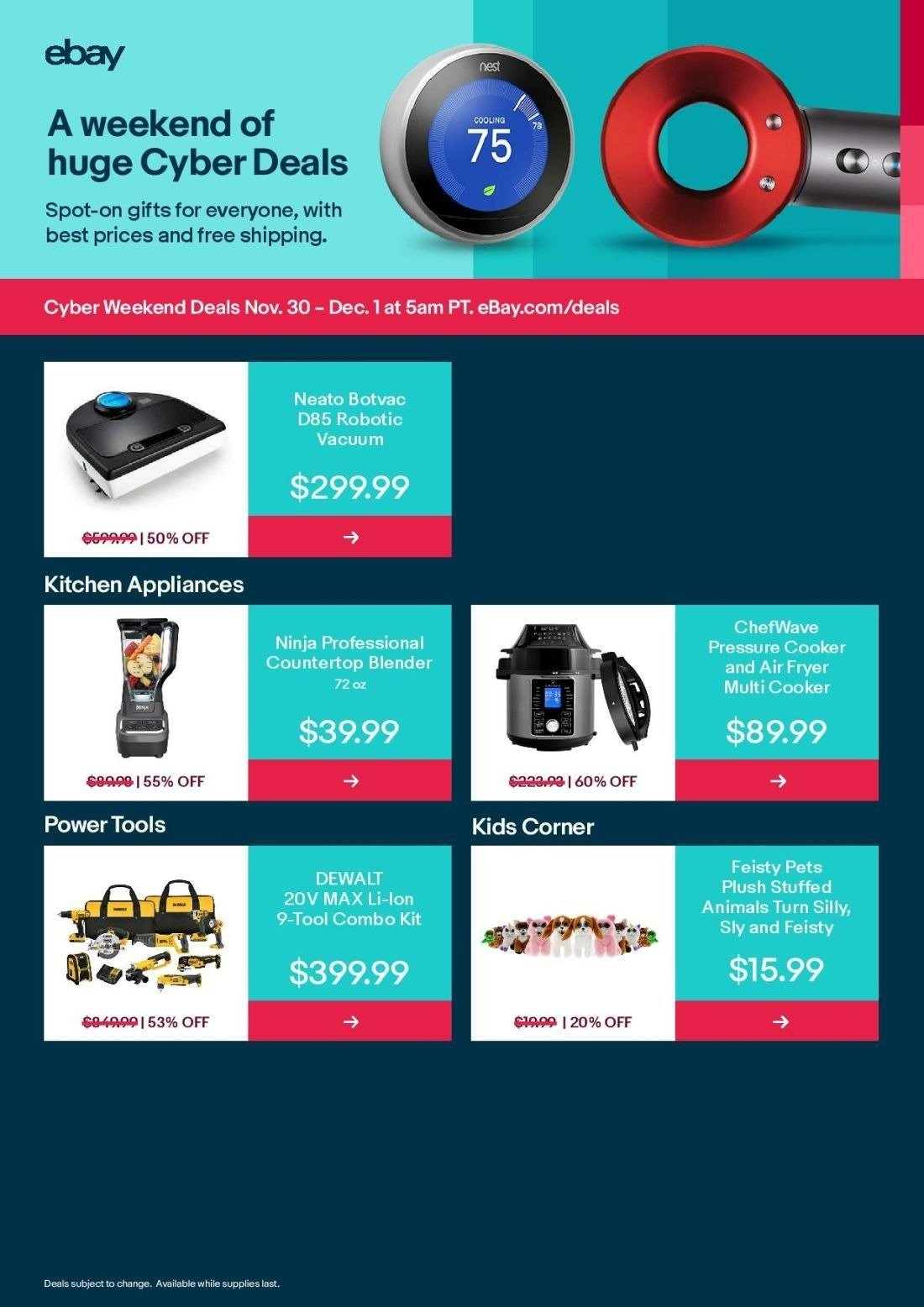 Ebay Cyber Monday 2019 Page 2