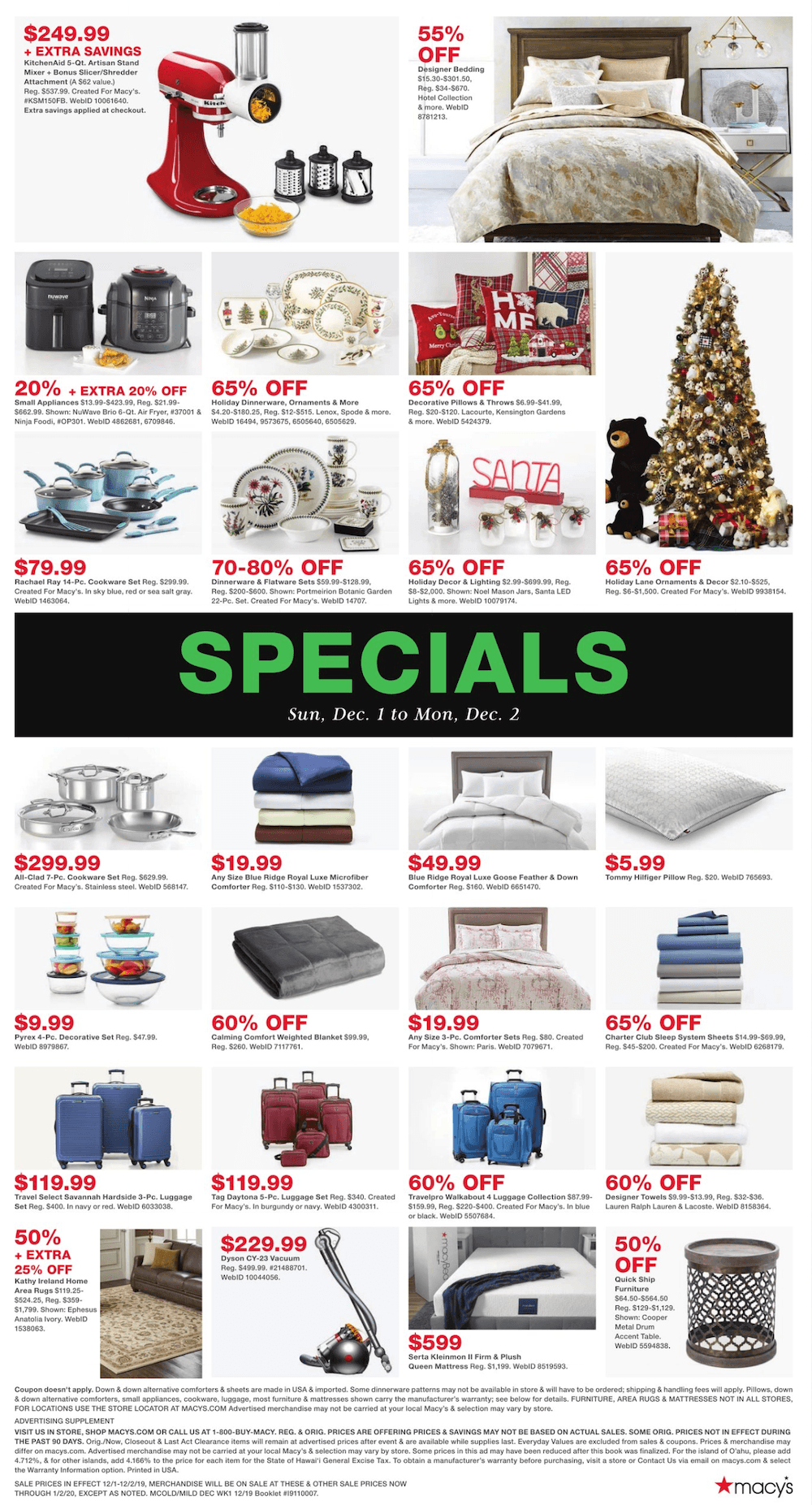 Macy's Cyber Monday 2019 Page 4