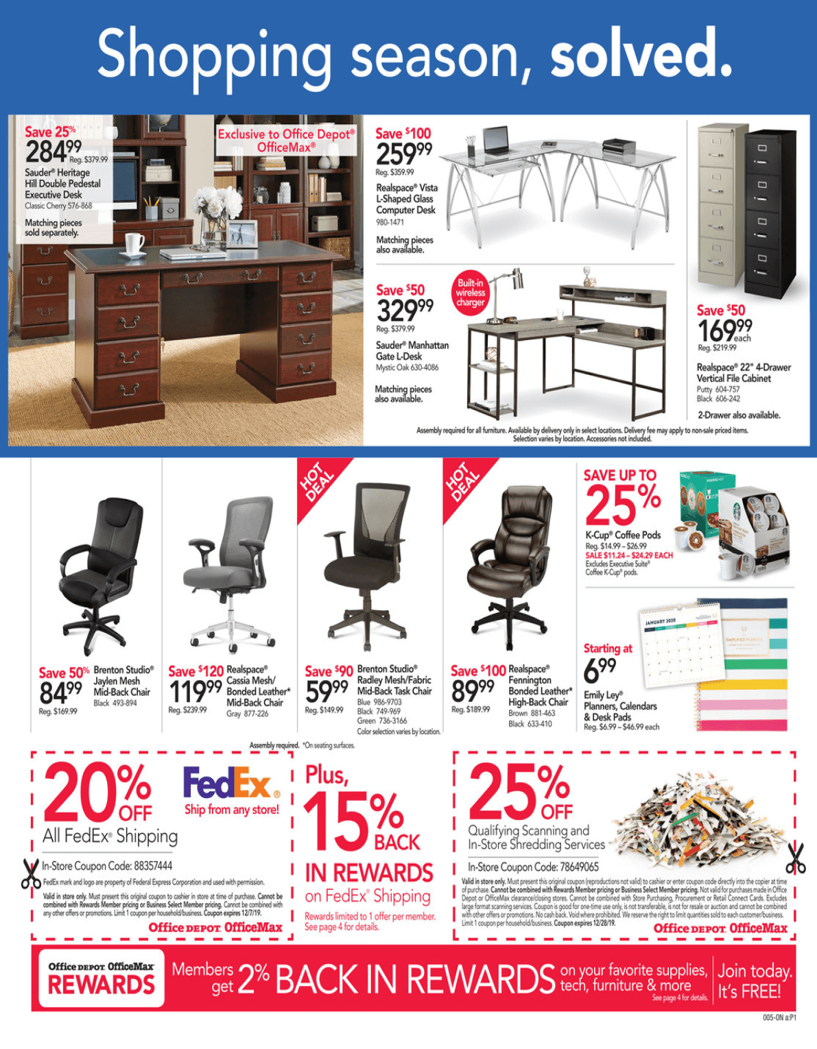 Office Depot and OfficeMax Cyber Monday 2019 Page 2