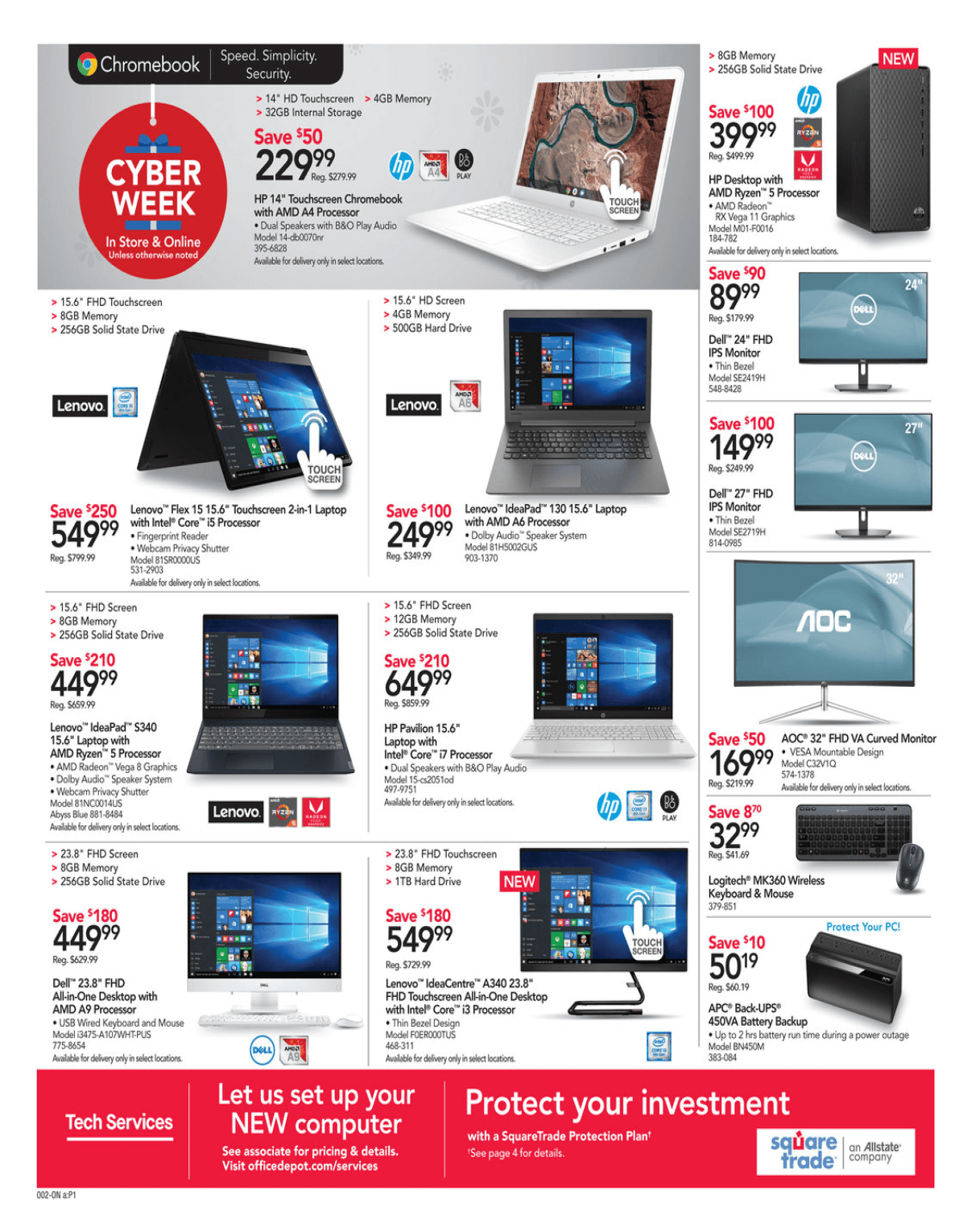 Office Depot and OfficeMax Cyber Monday 2019 Page 3