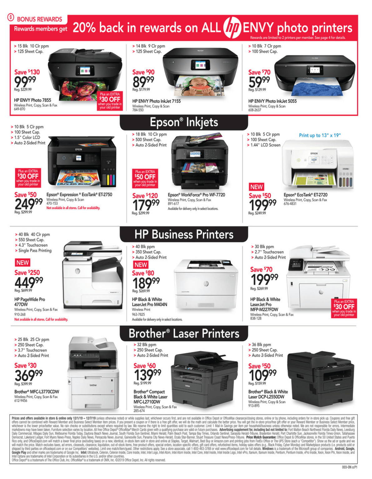Office Depot and OfficeMax Cyber Monday 2019 Page 4