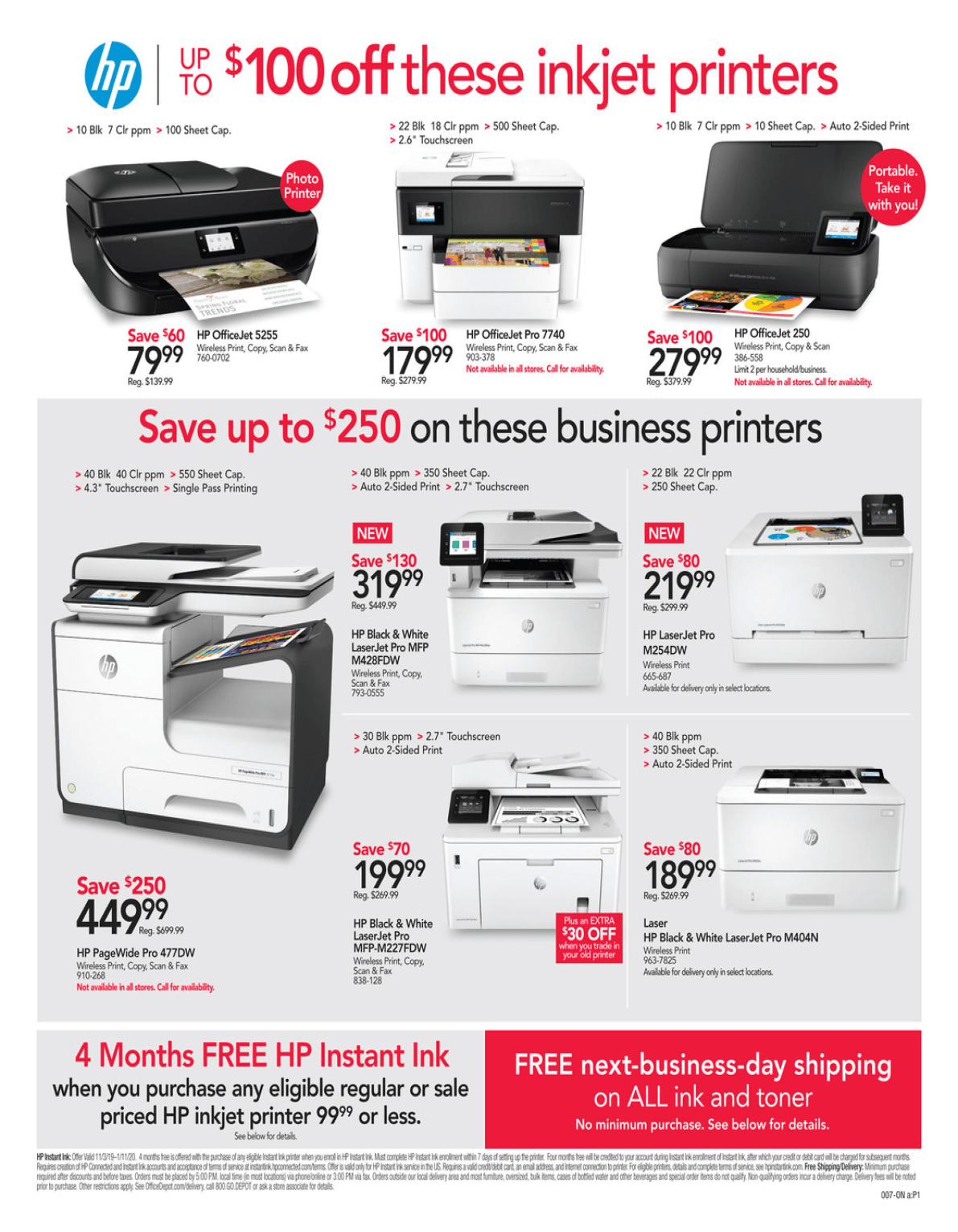 Office Depot and OfficeMax Cyber Monday 2019 Page 7