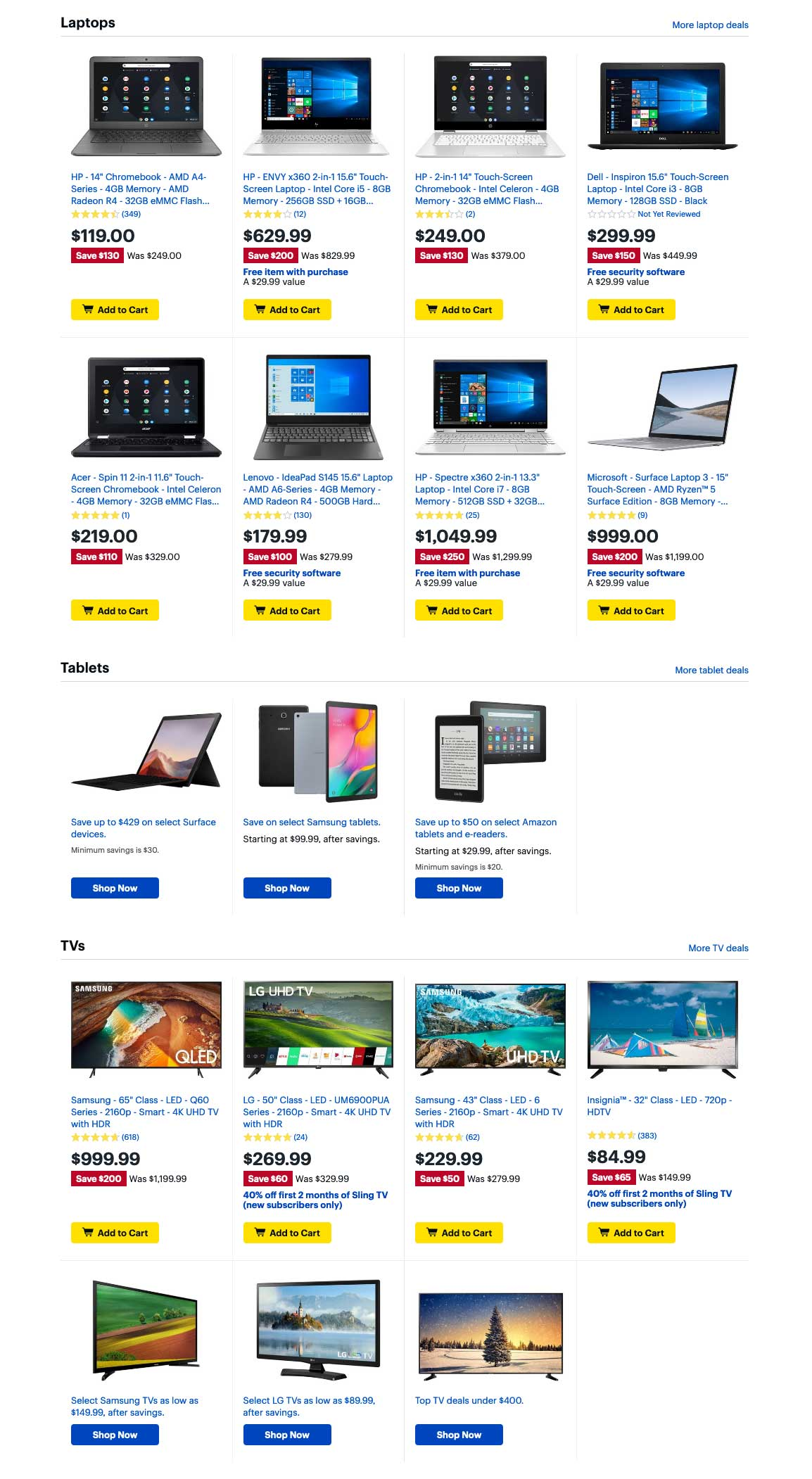 Best Buy Cyber Monday 2019 Page 2