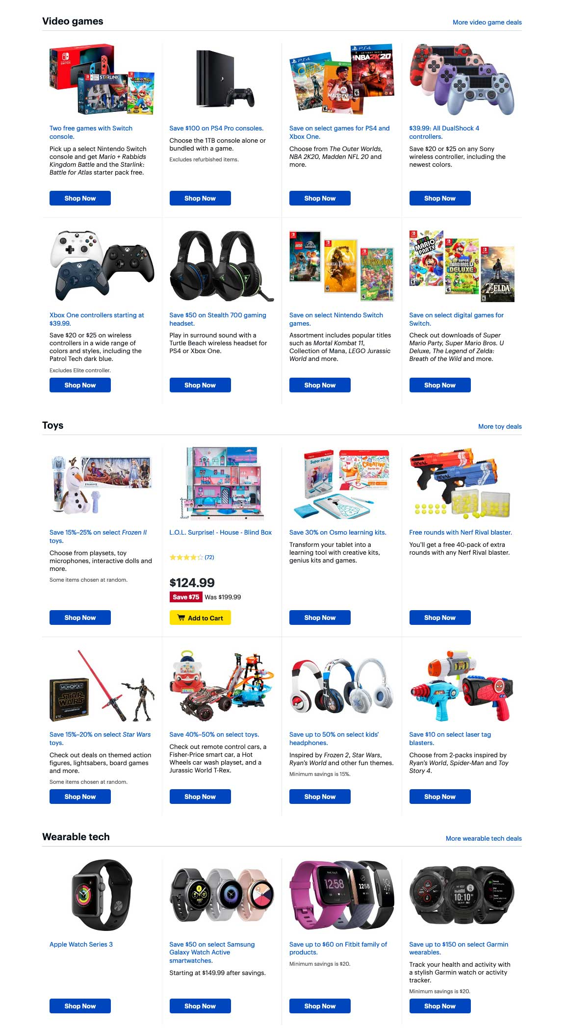 Best Buy Cyber Monday 2019 Page 9