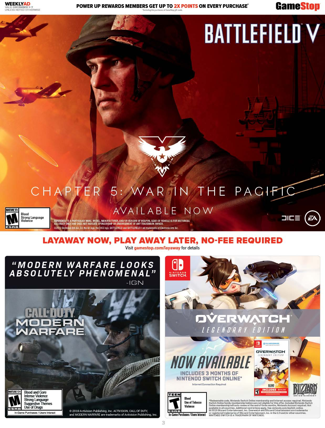 GameStop Cyber Monday 2019 Page 3