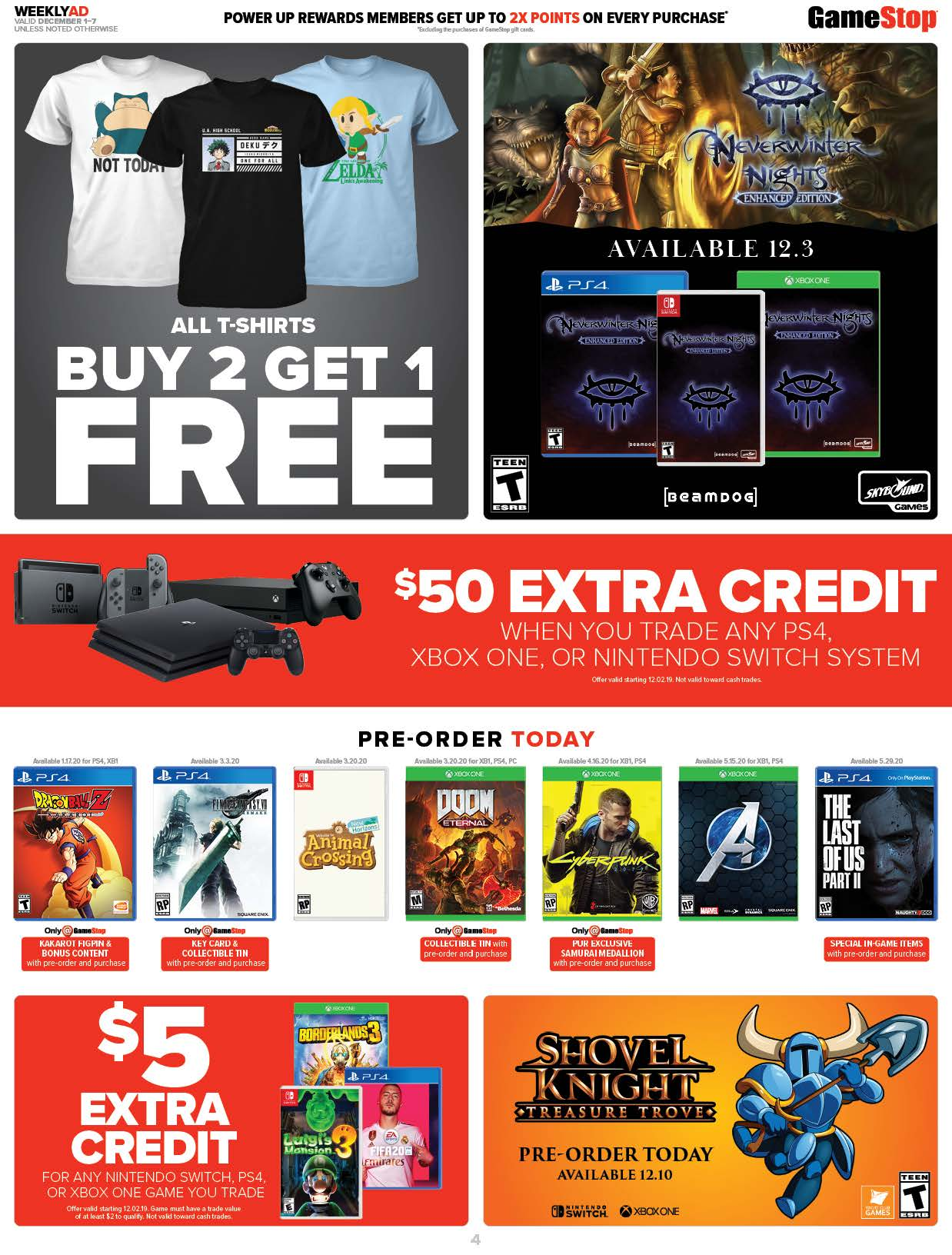 GameStop Cyber Monday 2019 Page 4