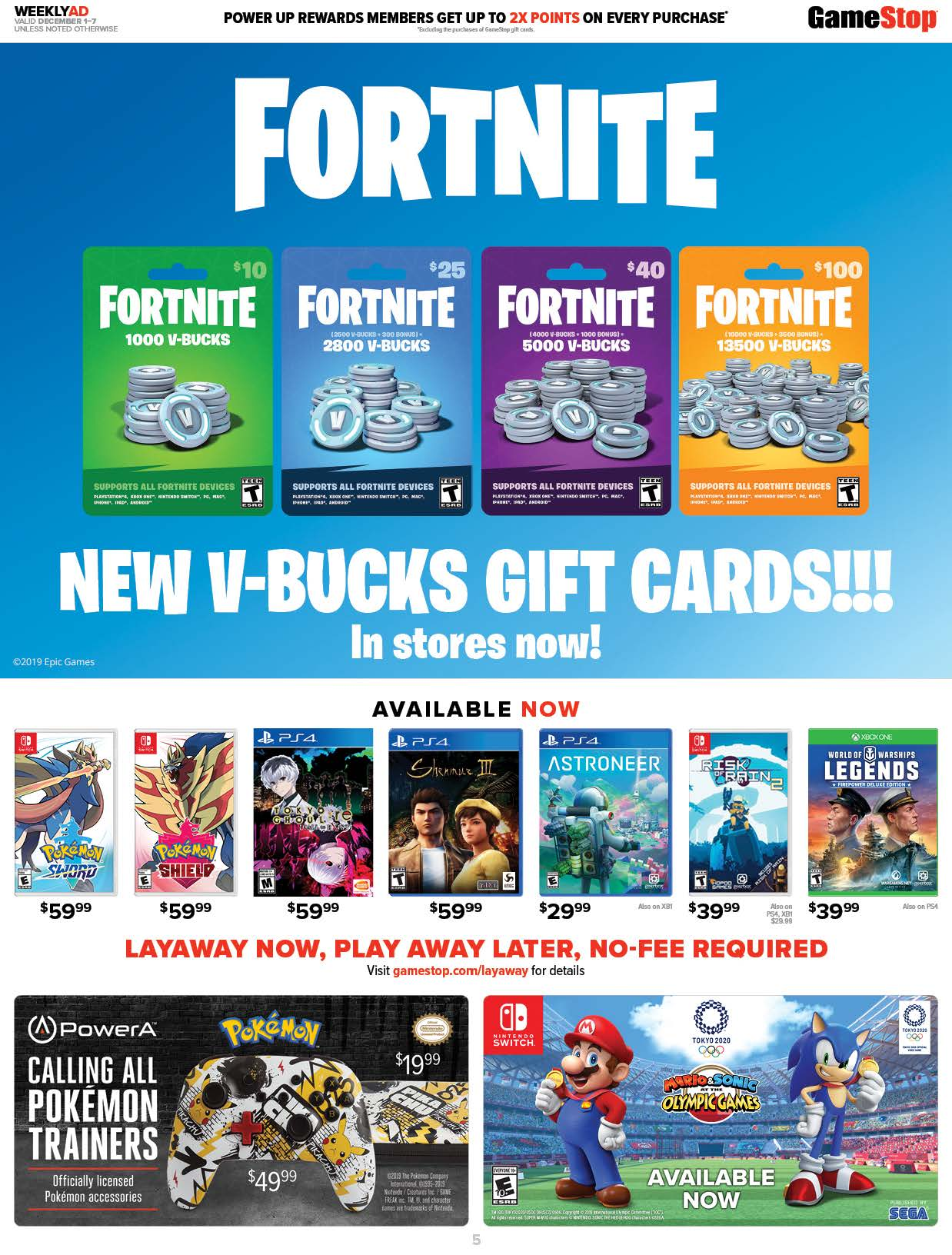 GameStop Cyber Monday 2019 Page 5