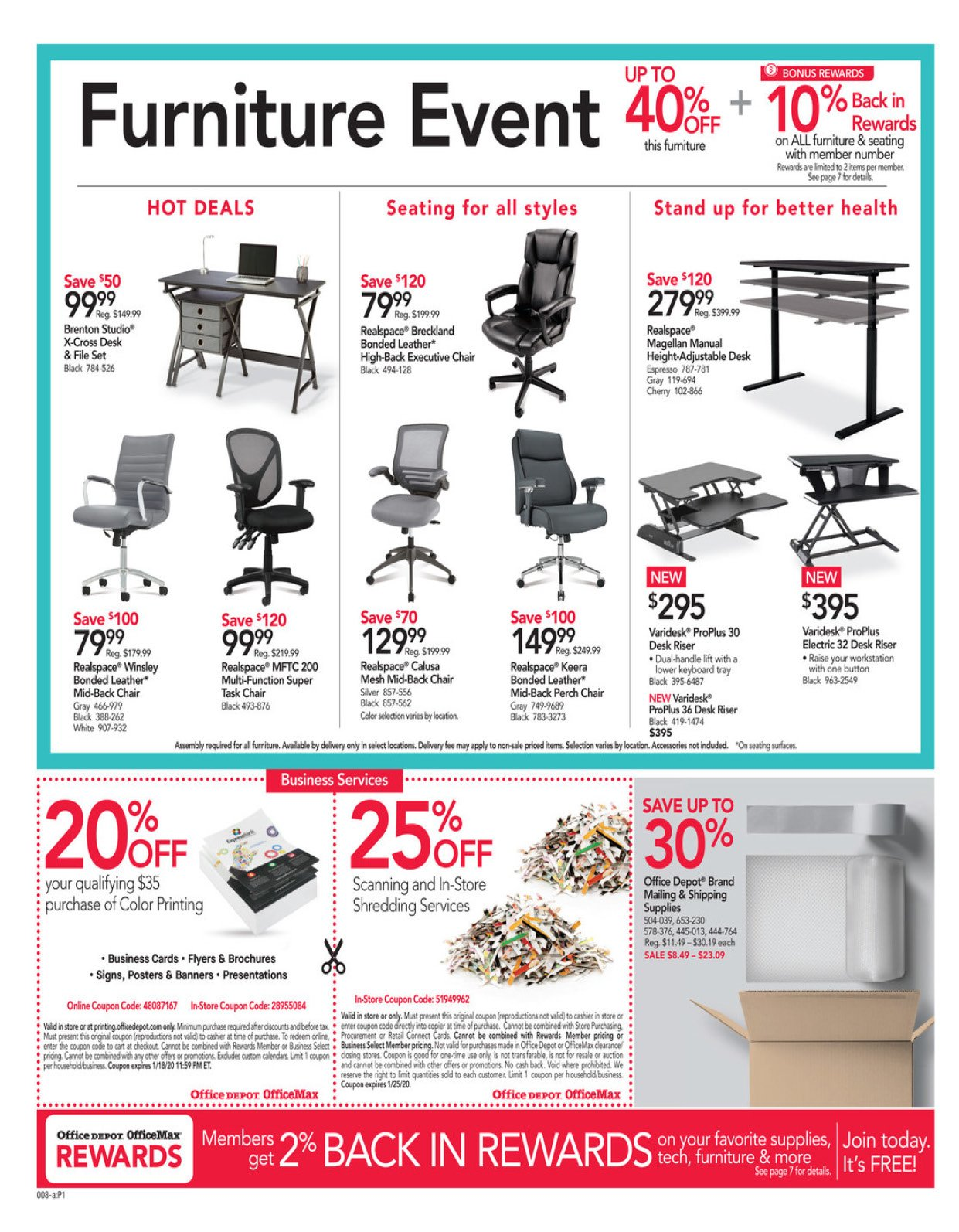 Office Depot and OfficeMax Weekly January 12 - 18, 2020 Page 2