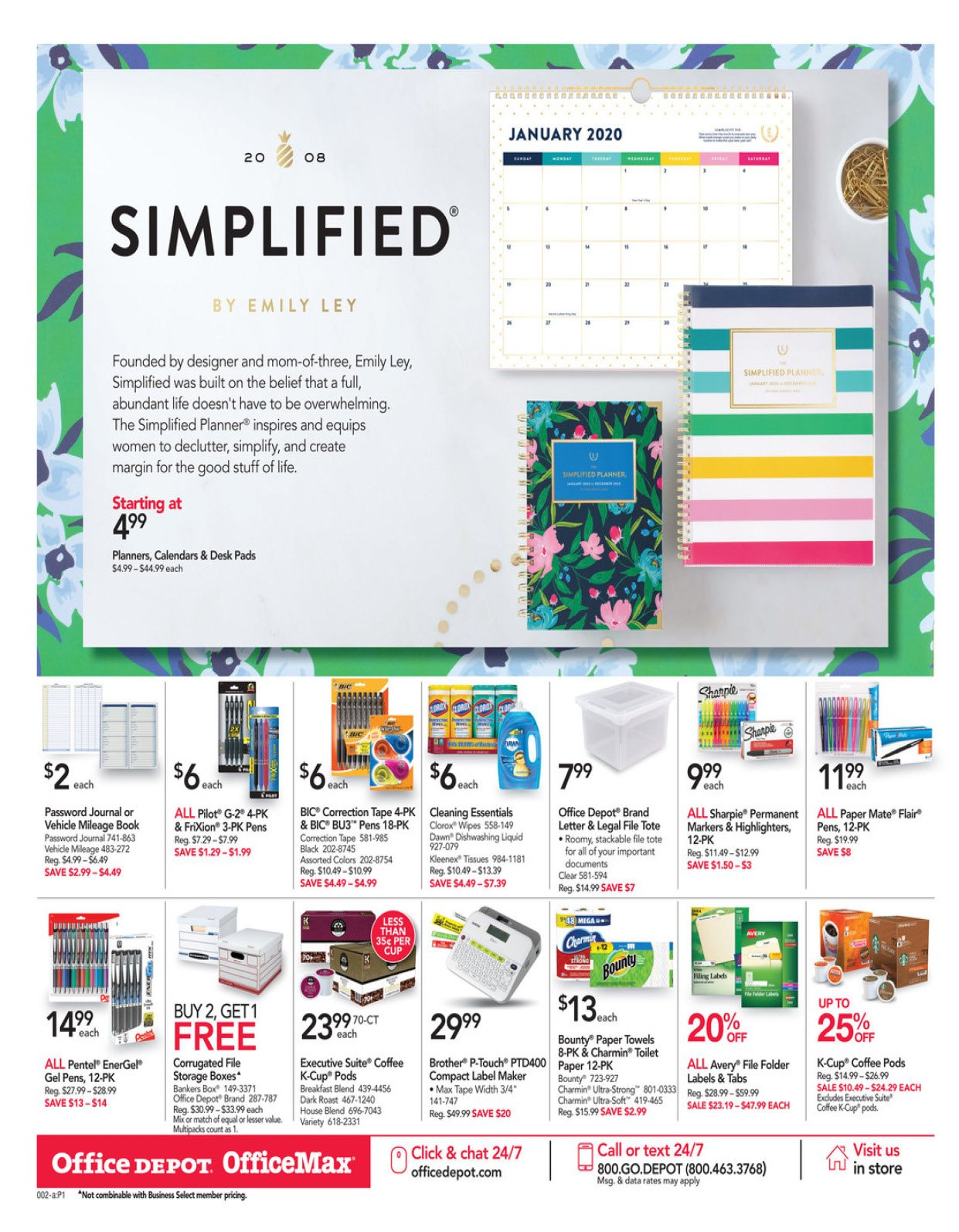 Office Depot and OfficeMax Weekly January 12 - 18, 2020 Page 3