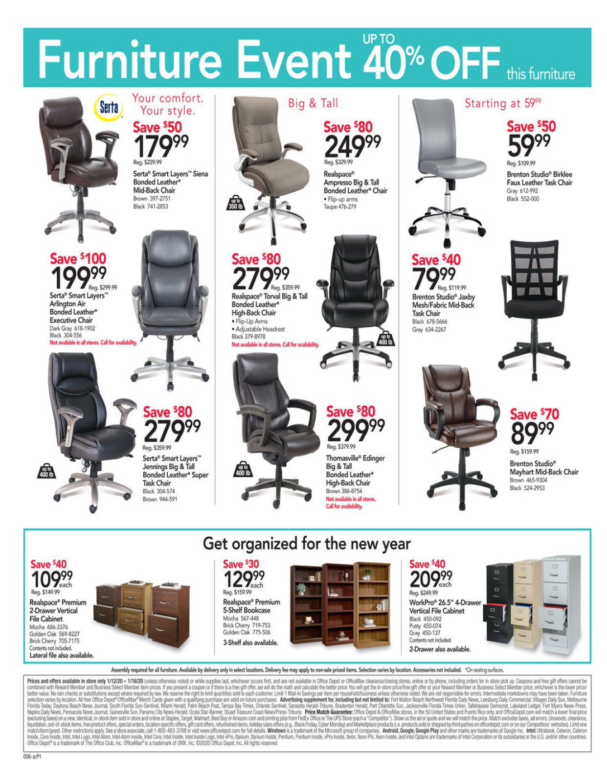 Office Depot and OfficeMax Weekly January 12 - 18, 2020 Page 7