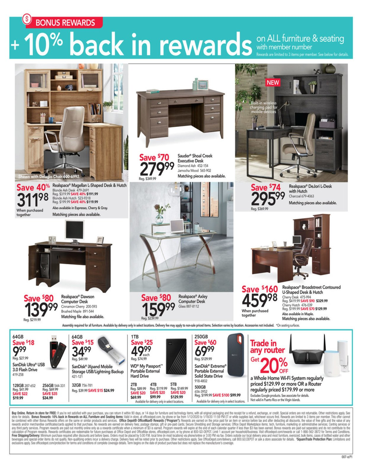 Office Depot and OfficeMax Weekly January 12 - 18, 2020 Page 8