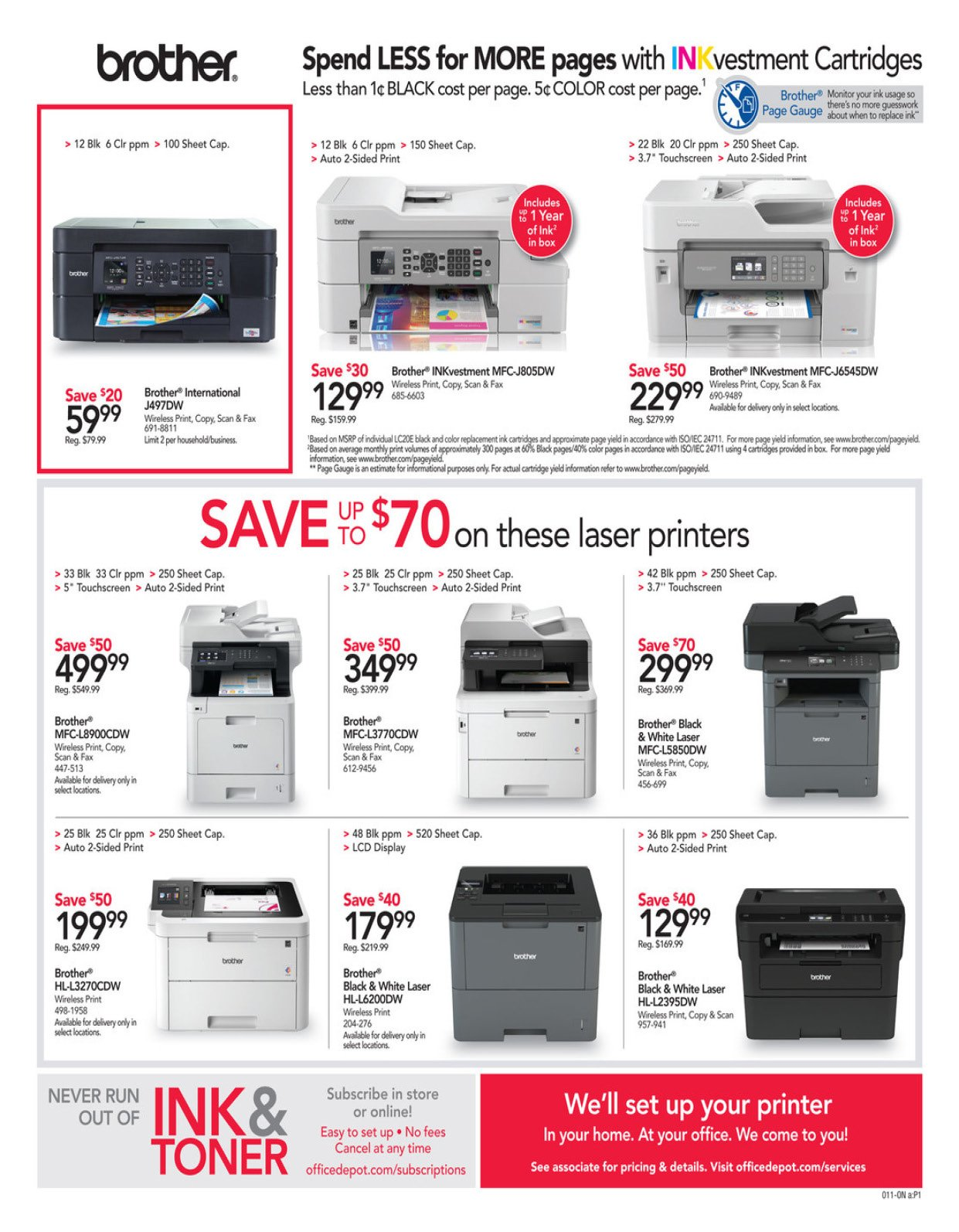Office Depot and OfficeMax Weekly January 12 - 18, 2020 Page 11