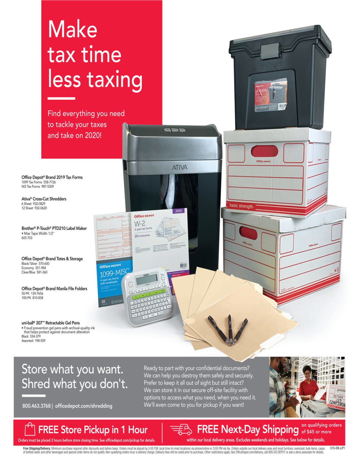Office Depot and OfficeMax Weekly January 12 - 18, 2020 Page 15
