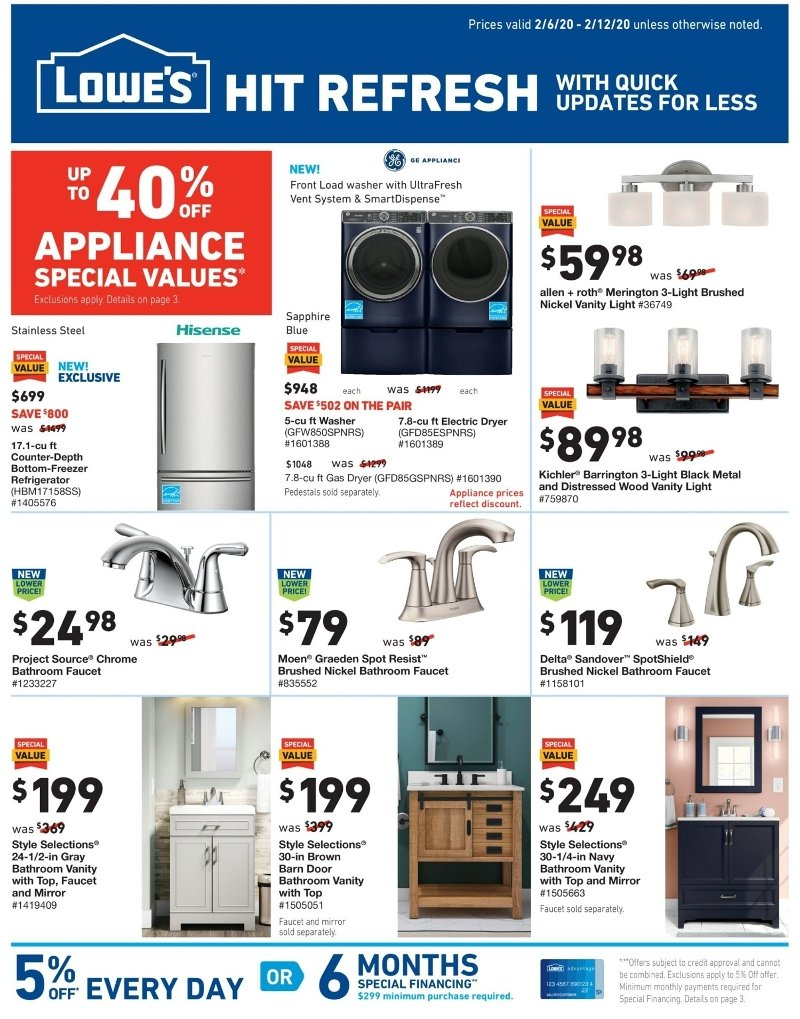 lowes memorial day sale 2020 ad