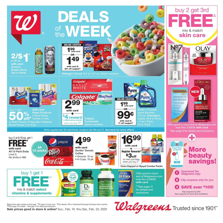 Walgreens Weekly February 16 - 22, 2020 Page 2