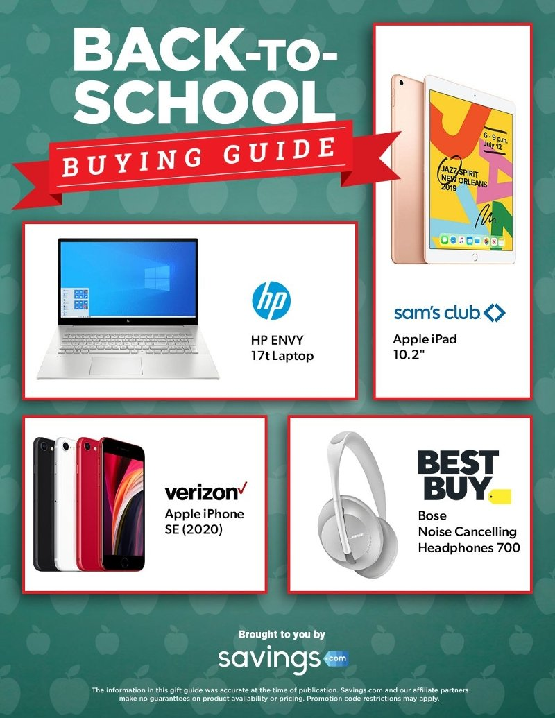 Back To School Buying Guide 2020 Page 2