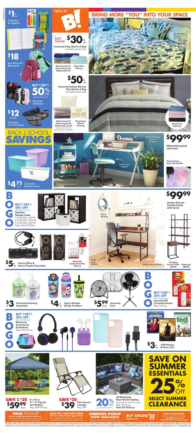 Big Lots Weekly July 25 - August 1, 2020 Page 4