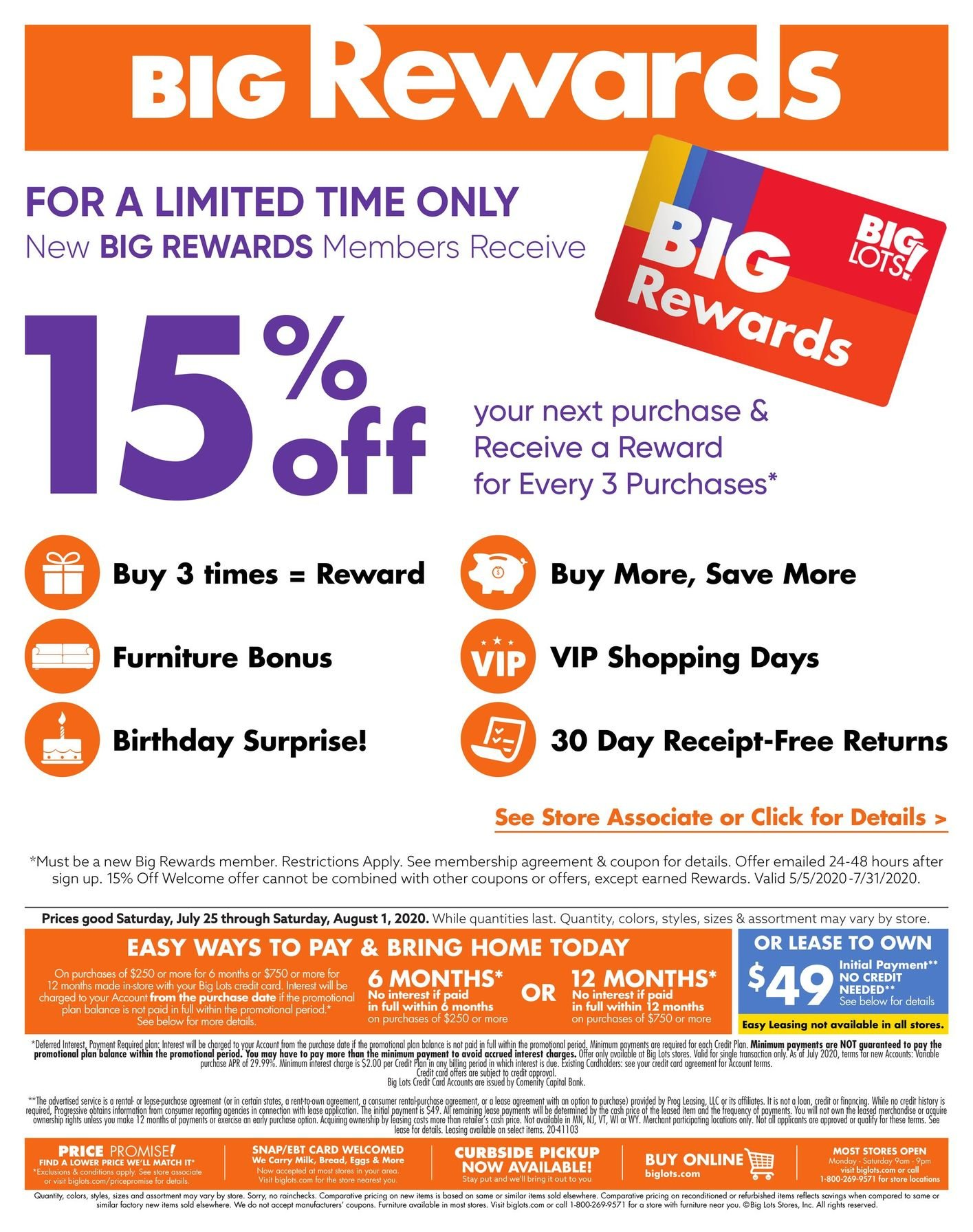 Big Lots Weekly July 25 - August 1, 2020 Page 5
