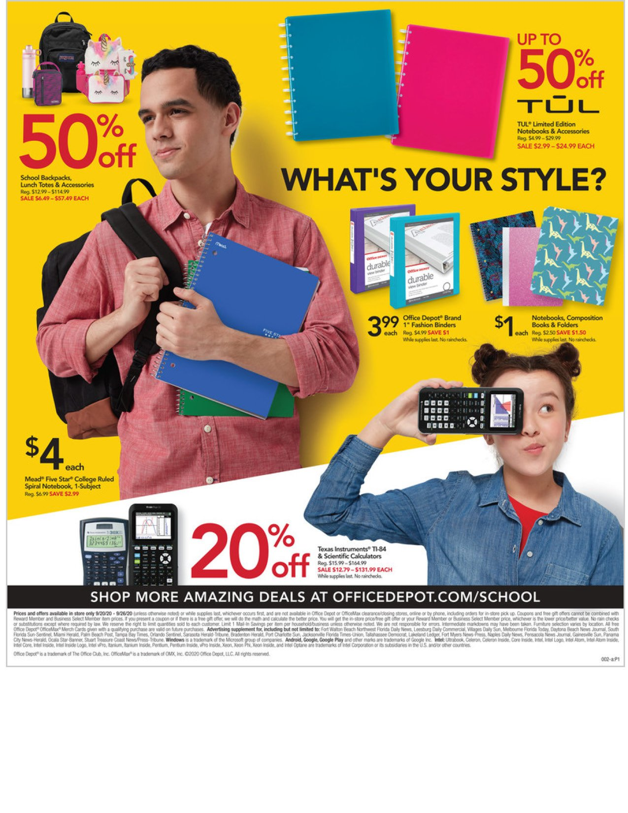 Office Depot and OfficeMax Weekly September 20 - 26, 2020 Page 2