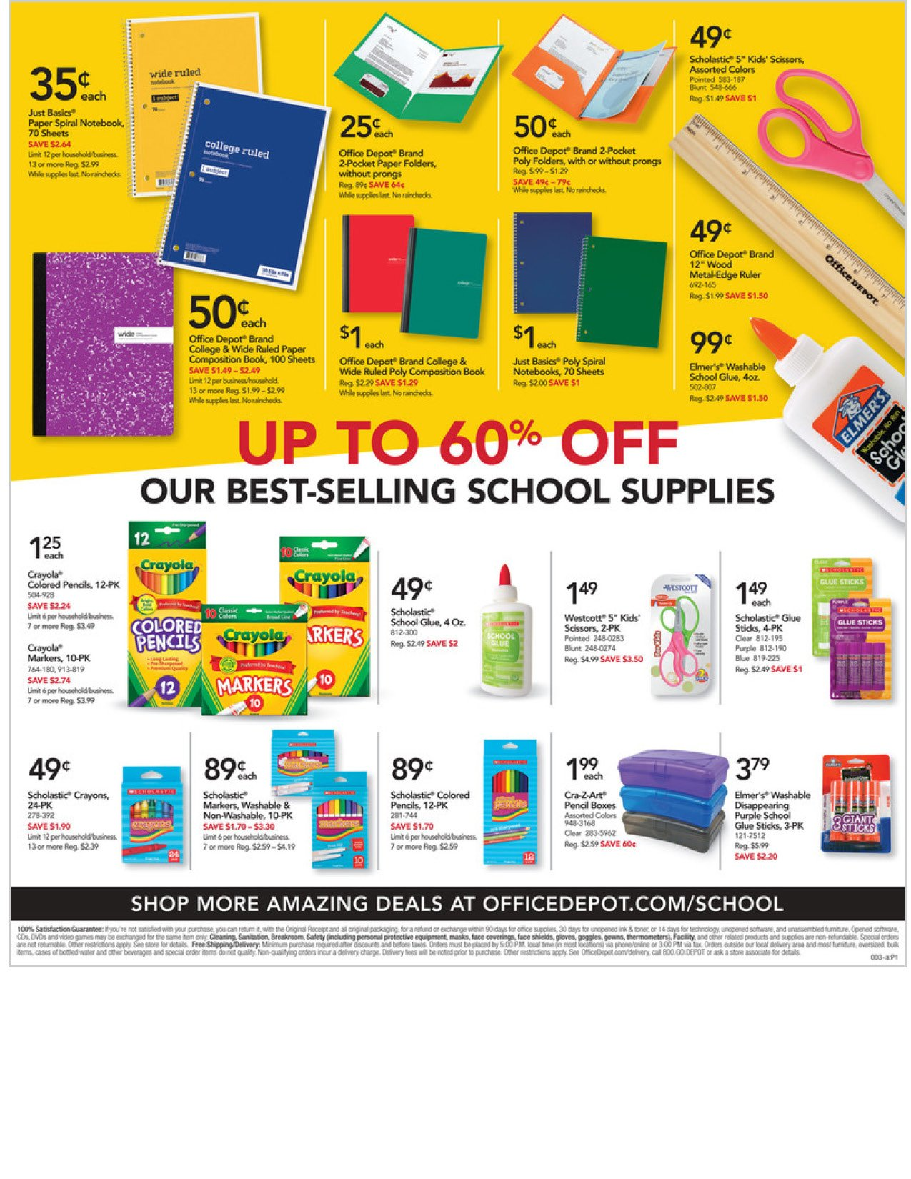Office Depot and OfficeMax Weekly September 20 - 26, 2020 Page 3