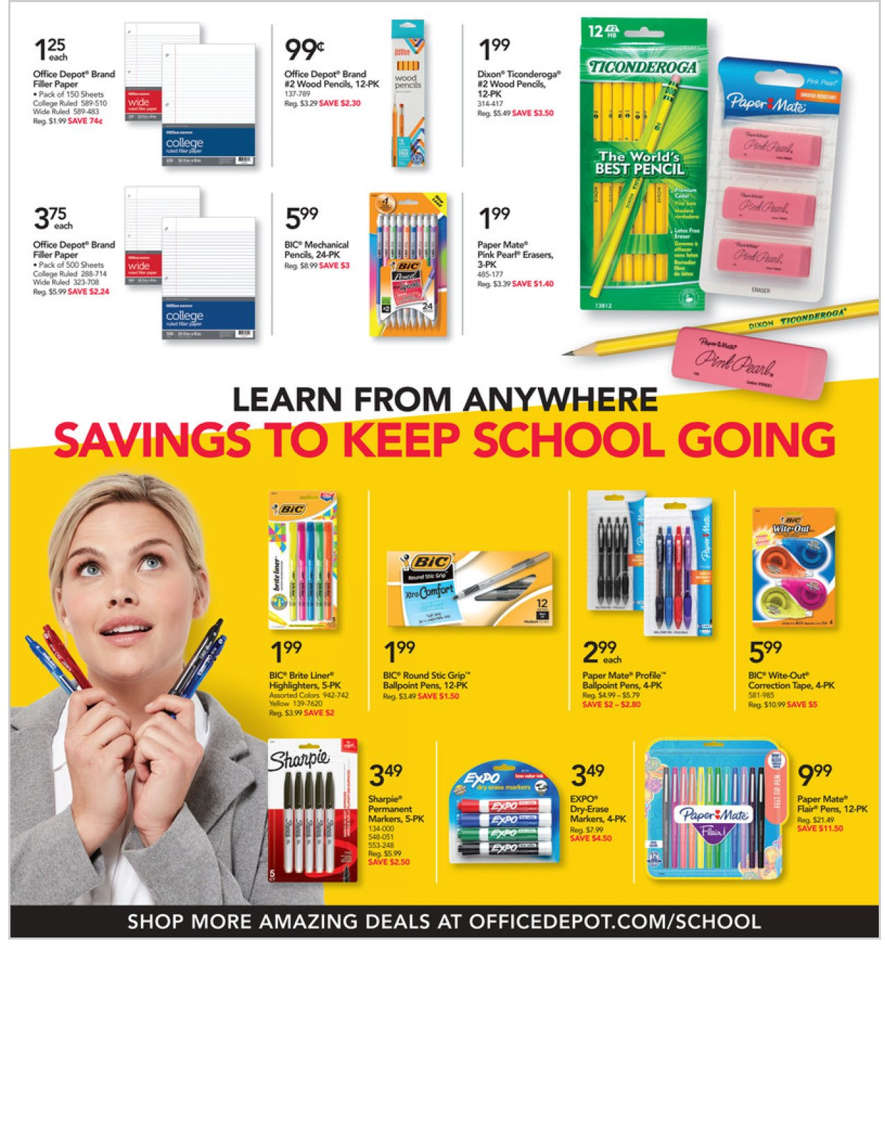 Office Depot and OfficeMax Weekly September 20 - 26, 2020 Page 4