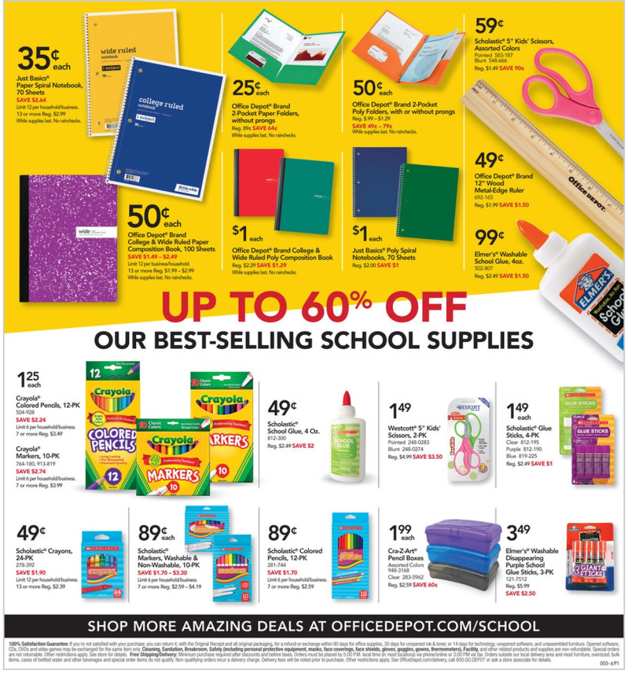 Office Depot and OfficeMax Weekly October 11 - 17, 2020 Page 3