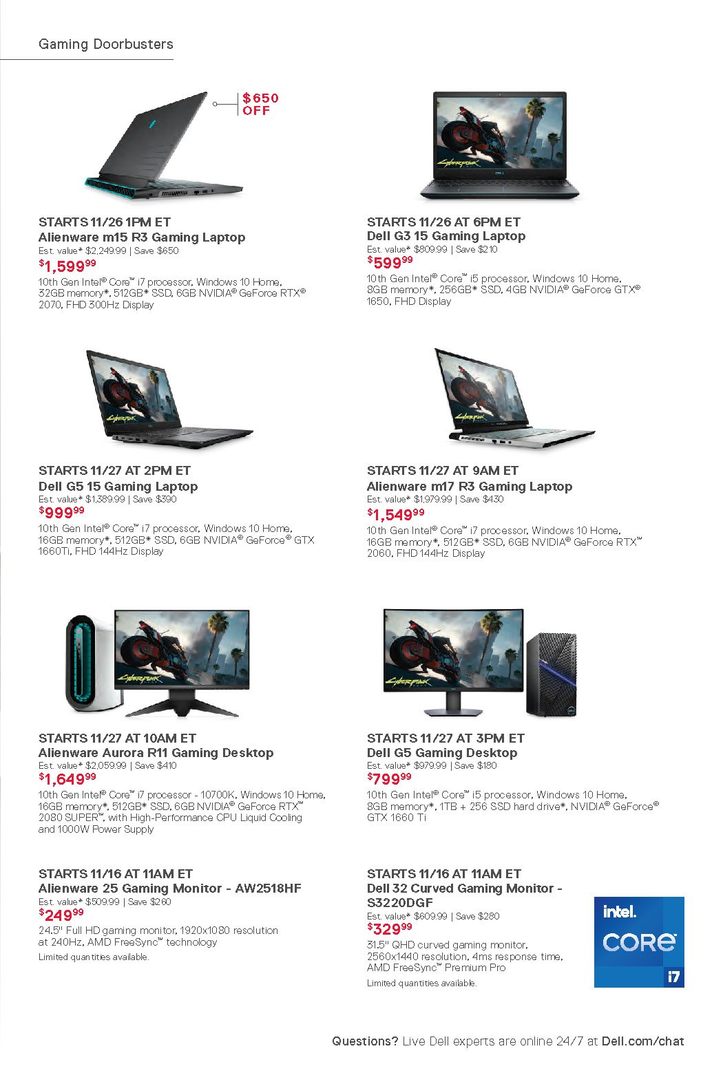 Dell Black Friday 2020 Page 7