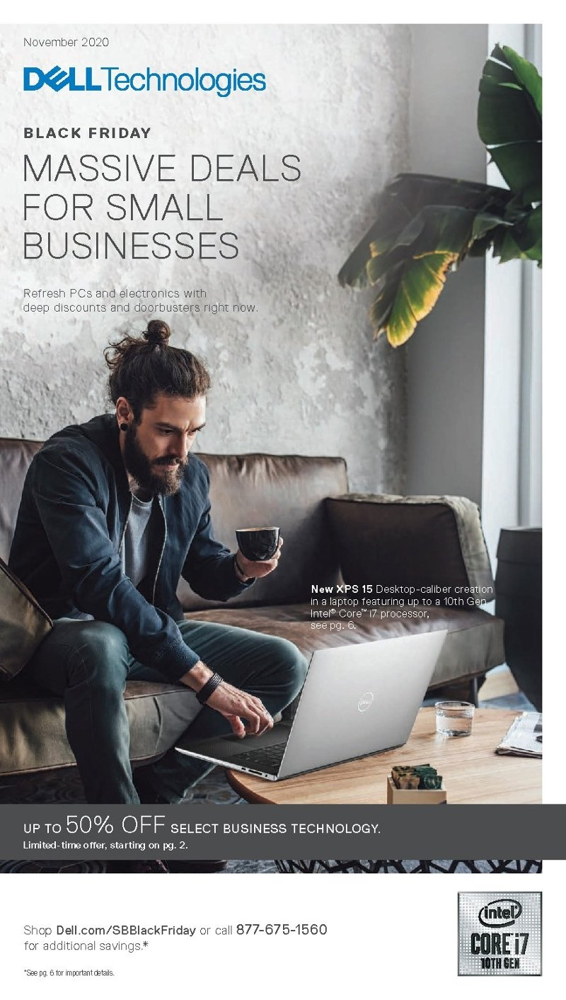 Dell Small Business Black Friday 2020 Page 1