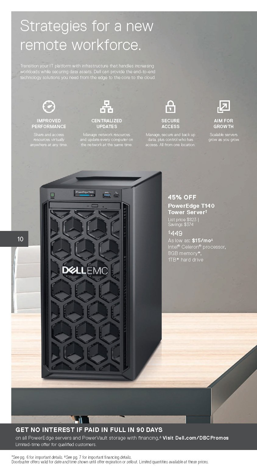 Dell Small Business Cyber Monday 2020 Page 5