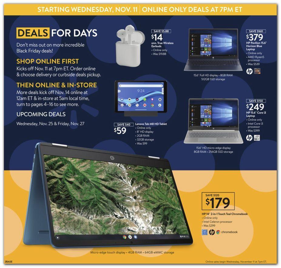 Walmart Black Friday November 11 - 15, 2020 Page 2