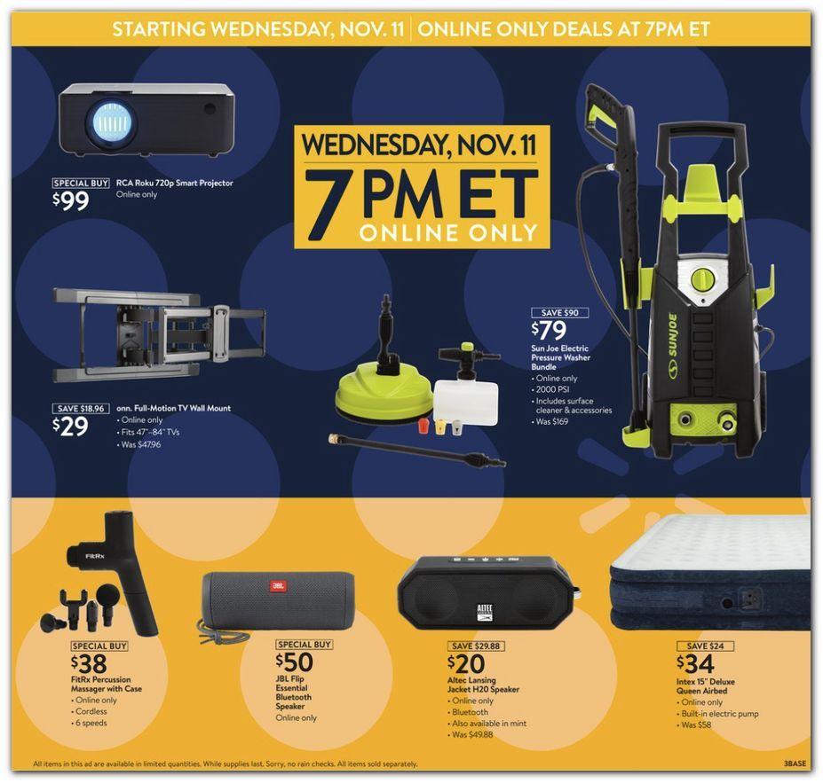 Walmart Black Friday November 11 - 15, 2020 Page 3