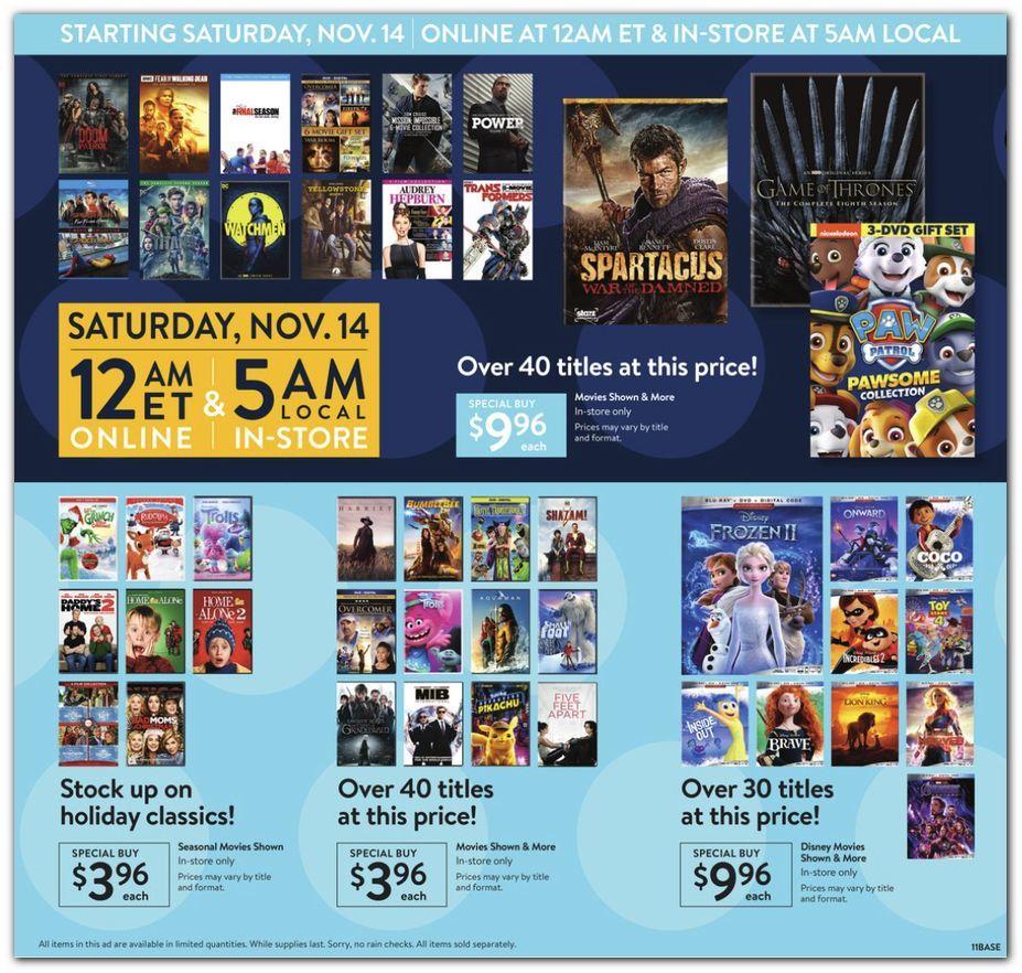 Walmart Black Friday November 11 - 15, 2020 Page 11