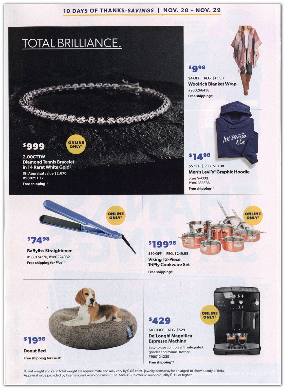 Sam's Club Black Friday 2020 Page 2