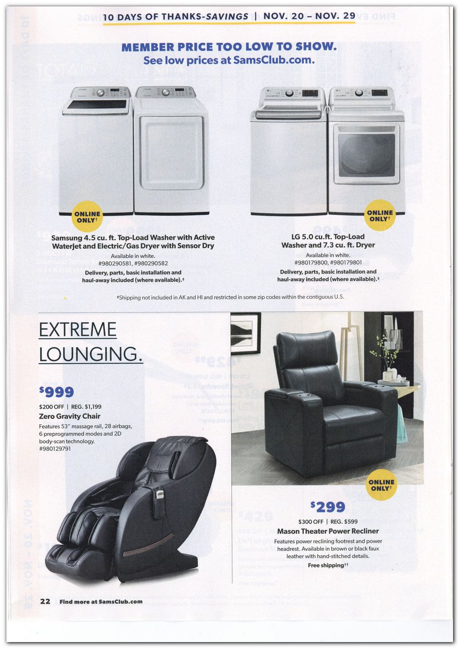Sam's Club Black Friday 2020 Page 4
