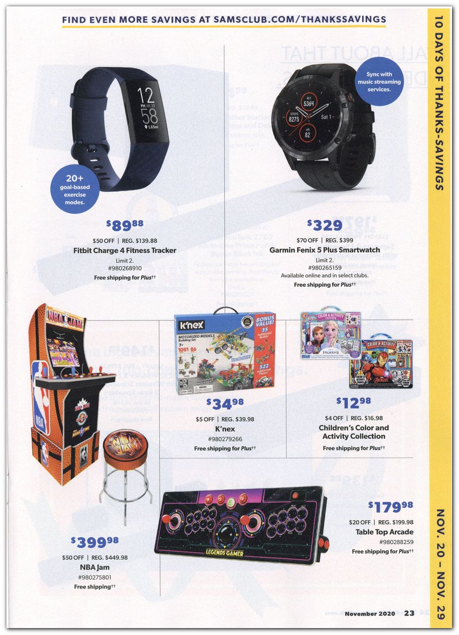 Sam's Club Black Friday 2020 Page 5
