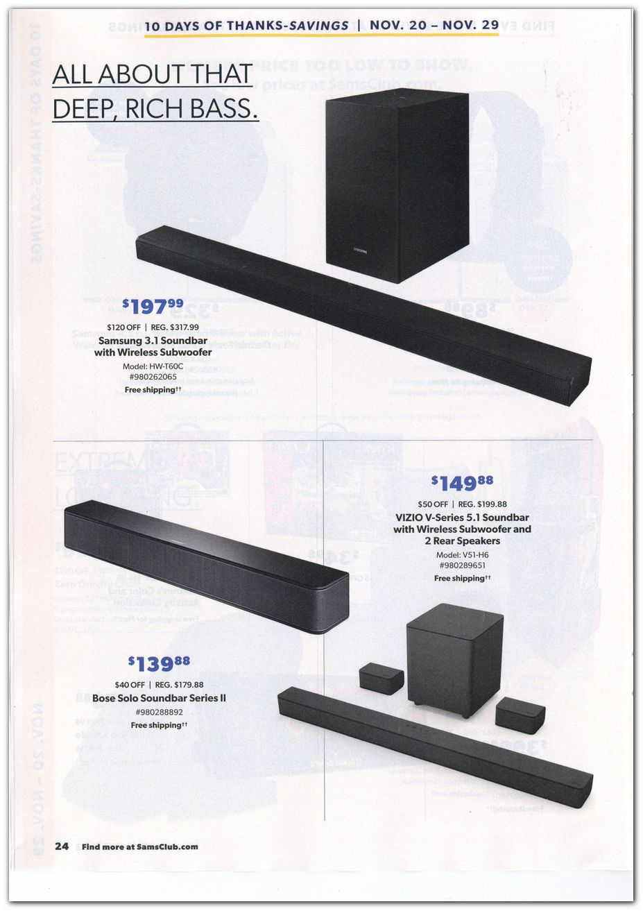 Sam's Club Black Friday 2020 Page 6