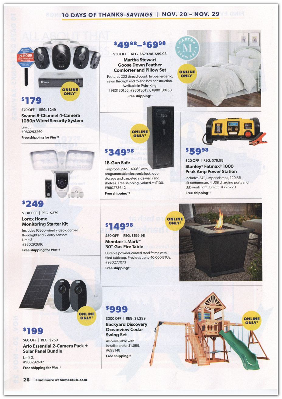 Sam's Club Black Friday 2020 Page 8