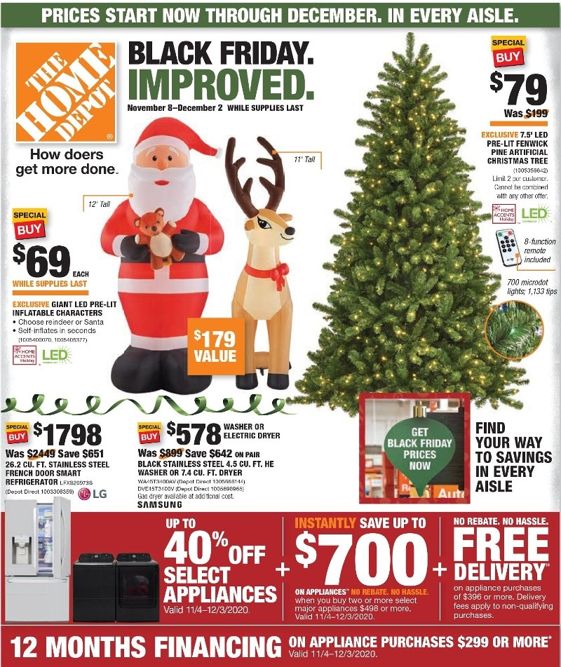 Home Depot Black Friday 2020 Ad Savings Com