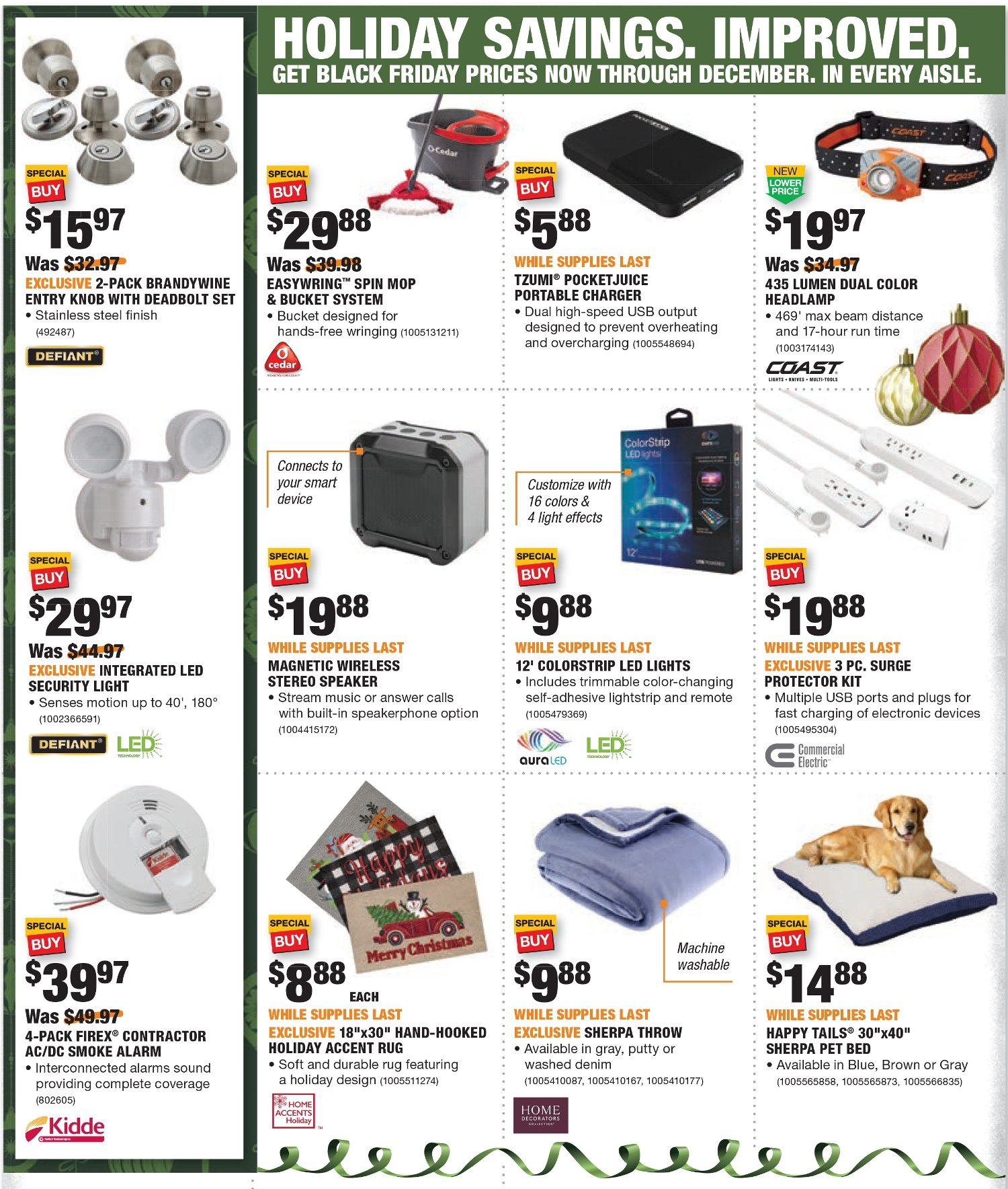 Home Depot Black Friday 2020 Page 3