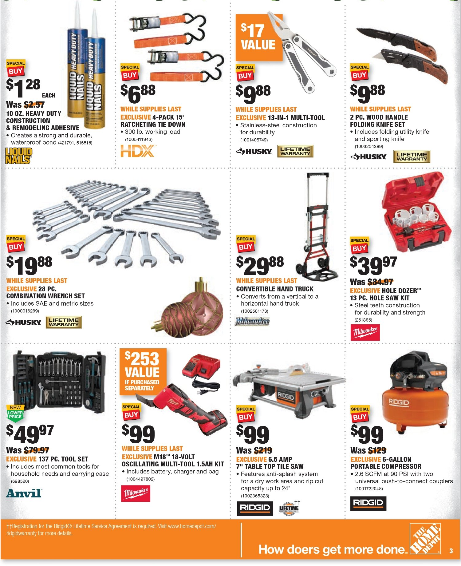 Home Depot Black Friday 2020 Page 6