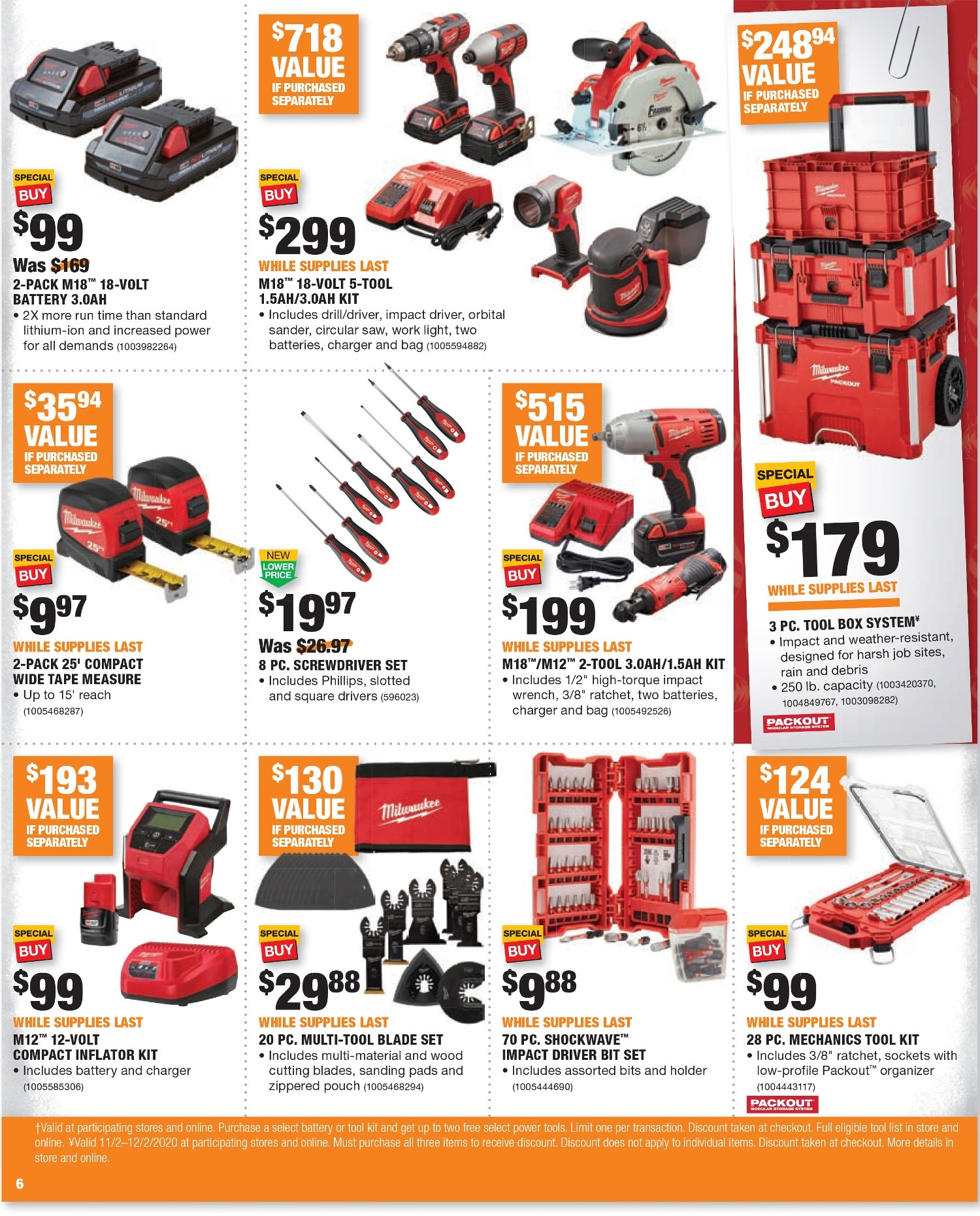 Home Depot Black Friday 2020 Page 12